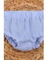 Трусики-блумеры на подгузник Magbaby голубые