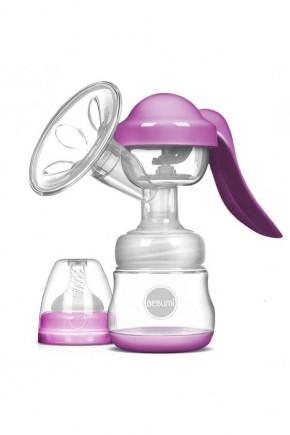 Молокоотсос ручной Bebumi BM Pro розовый