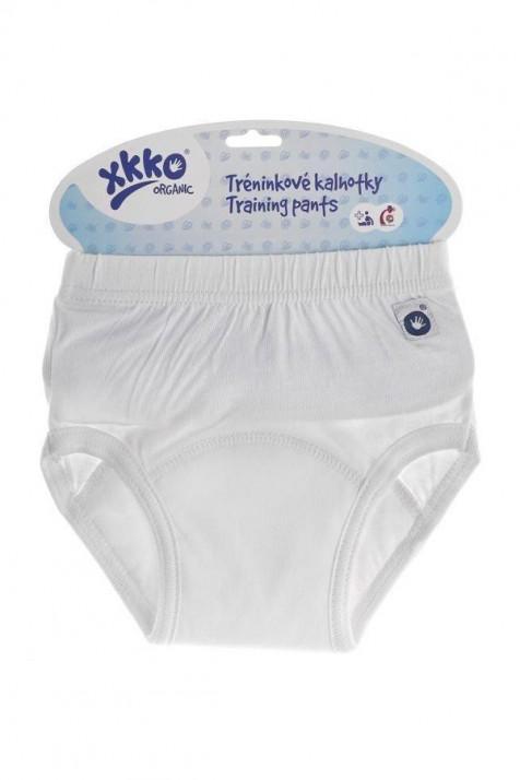 Детские тренировочные трусы XKKO Organic белые