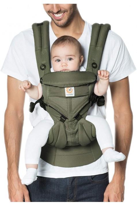 Ерго рюкзак Ergobaby Omni Mesh 360 - Чорний з народження