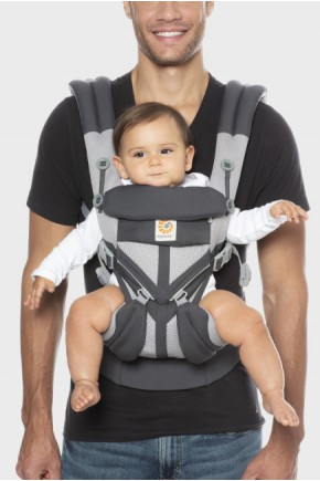 Ерго рюкзак Ergobaby Omni Mesh 360 - Карбон з народження