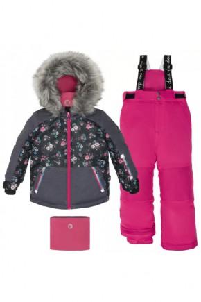 Зимний комплект для девочки Deux par Deux H805-657