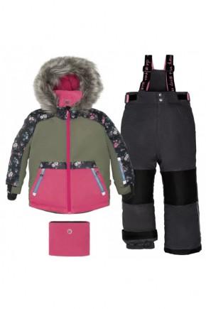 Зимний комплект для девочки Deux par Deux H805-003