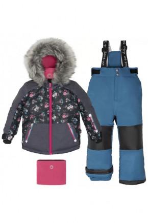 Зимний комплект для девочки Deux par Deux H805-459