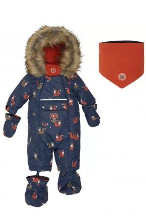 Комбинезон зимний для мальчика Deux par Deux I706-012