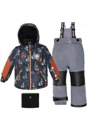 Зимний комплект для мальчика Deux par Deux K808-019