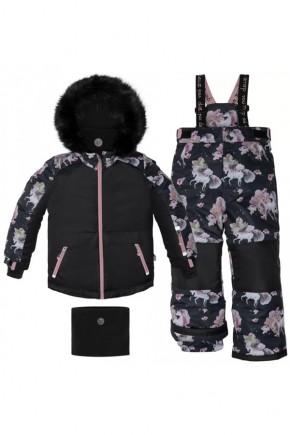 Зимний комплект для девочки Deux par Deux S805-020