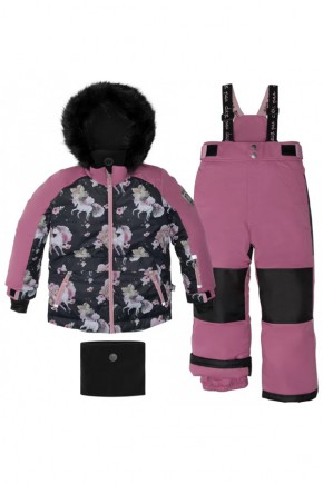 Зимний комплект для девочки Deux par Deux S805-570