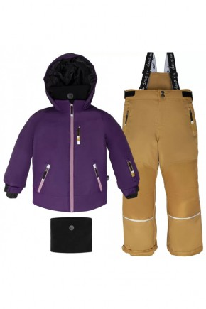 Зимний комплект для девочки Deux par Deux P809-501