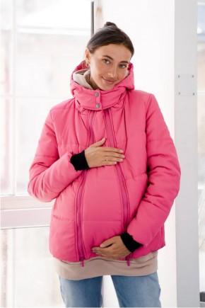 Куртка для беременных To Be 4341275 малиновая