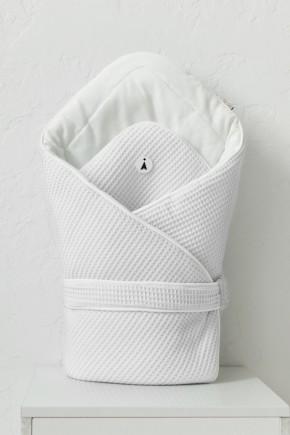 """Вафельный конверт-одеяло """"Kyle"""" MagBaby белый"""