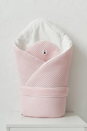 """Вафельный конверт-одеяло """"Kyle"""" MagBaby розовый"""