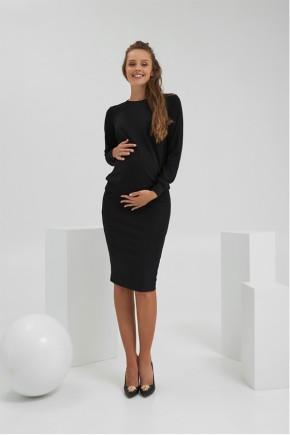 Кофта для беременных и кормящих Dianora 2186 черная