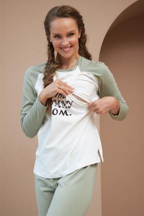 Кофта для беременных и кормящих Dianora 2177 1557 фисташковая