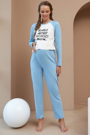 Штаны для беременных Dianora 2180 1558 голубые