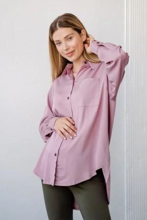 Рубашка для беременных и кормящих To be 2101 розовая