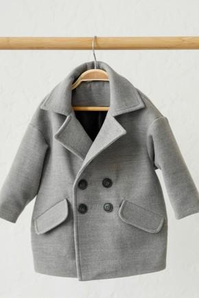 "Вельветова куртка-бомбер ""Line"" Magbaby чорна"