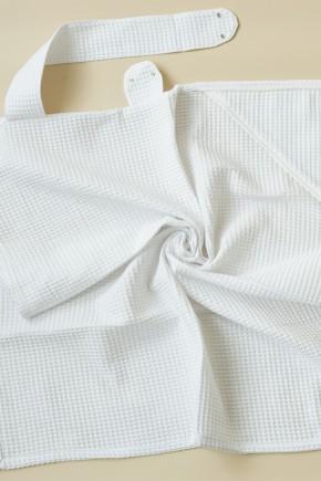 """Вафельное полотенце """"Wafel"""" Magbaby белое"""