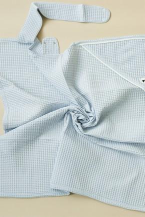 """Вафельное полотенце """"Wafel"""" Magbaby голубое"""
