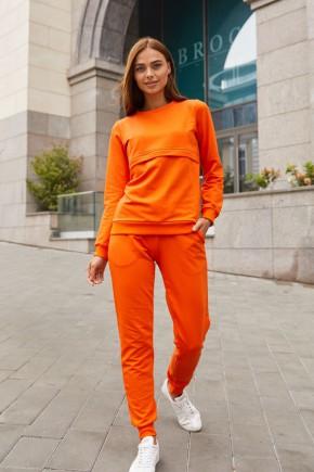Спортивный костюм для беременных Lullababe DETROIT оранжевый