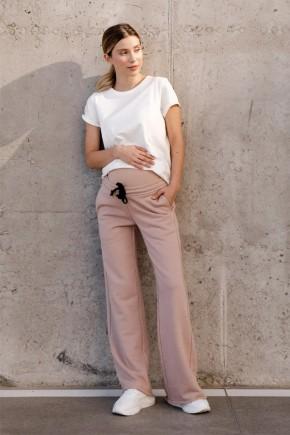 Спортивные штаны для беременных To Be 4353 бежевые