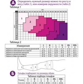 Гольфы 140 DEN антиварикозные профилактические Tiana комп-я 18-21
