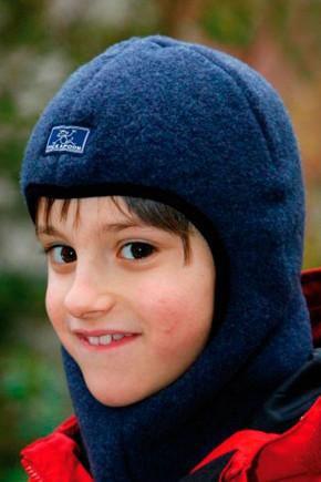 Шапка-шлем детская Pickapooh синяя