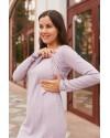 Платье для беременных и кормящих Lullababe Fiji пудровое