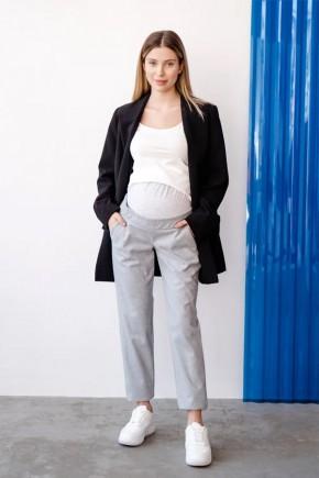 Брюки для беременных To Be 4365 светло-серые