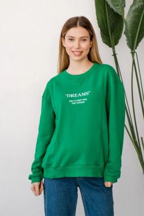 Джемпер для беременных и кормящих To be 4362 зеленый
