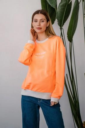 Джемпер для беременных и кормящих To be 4362 оранжевый