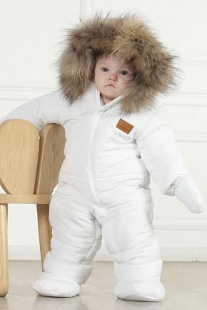 "Комбинезон детский Kid's Fantasy ""Северленд"" белый"