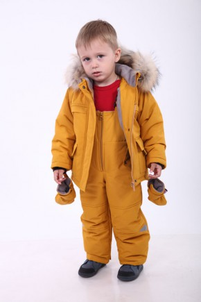 Детский зимний комплект Kid's Fantasy  Альпинист, горчица