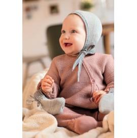 Вязаная шапка для малышей из шерсти, Disana