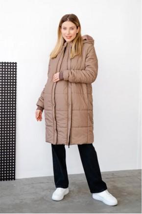 Куртка для беременных To Be 4343 коричневая