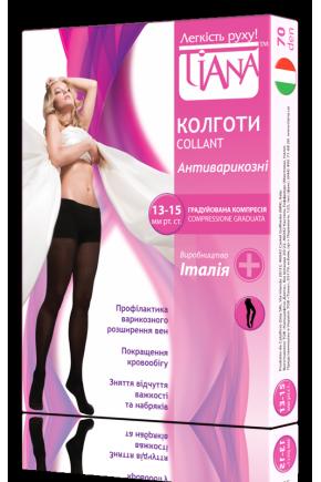 Колготки профилактические для беременных Tiana 70 Den
