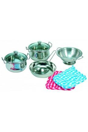 Набор посуды нержавеющий Bino арт. 83392