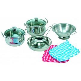 Набір посуду нержавіючий Bino арт. 83392