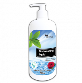 Средство для мытья посуды с эфирным маслом розы