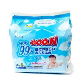 Детские влажные салфетки для малышей на грудном вскармливании (80 штук)